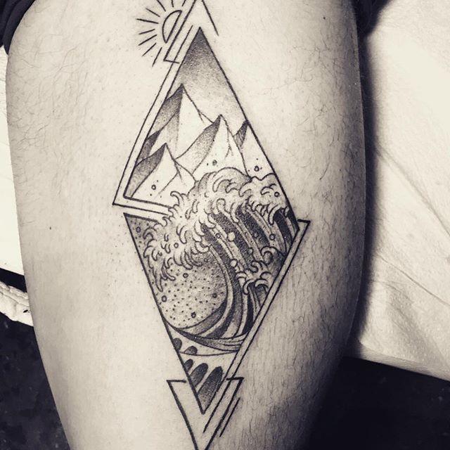 Mateo Sigwerth Wolfs Head Tattoo Pain Magazine